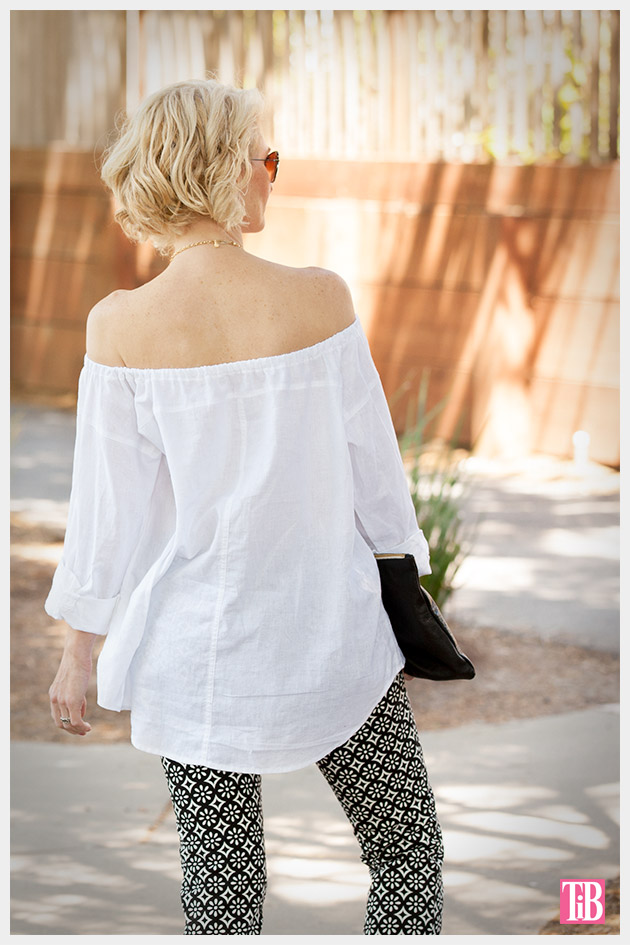 DIY Off the Shoulder Top photo 3 by Trinkets in Bloom