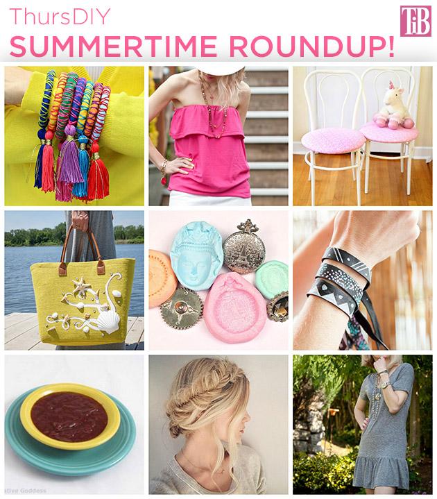 ThursDIY Summertime Roundup on Trinkets in Bloom