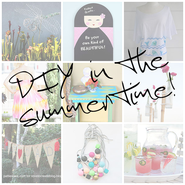 9 Summertime DIYS by Trinkets in Bloom