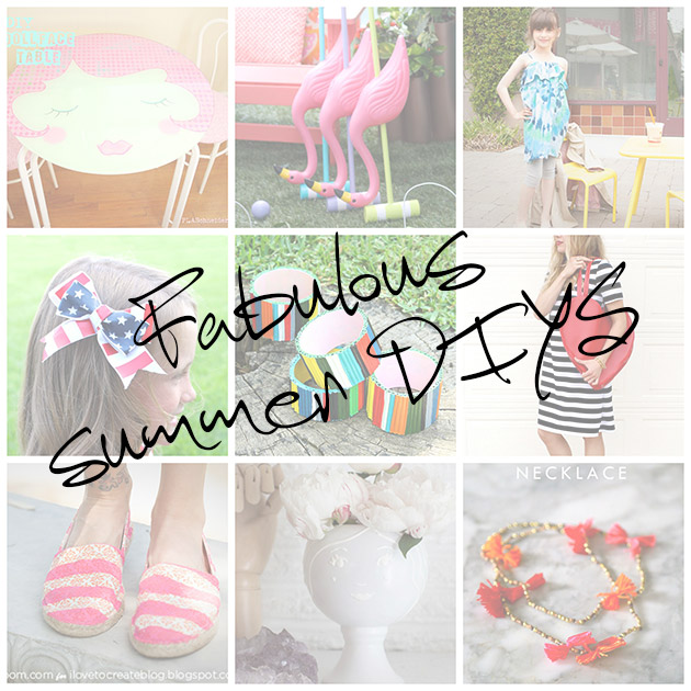 Fabulous Summer DIYS by Trinkets in Bloom