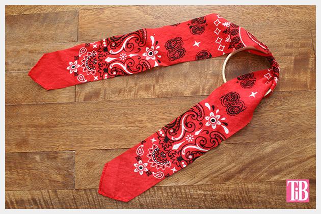 DIY Bandana Bracelets wrapping by Trinkets in Bloom