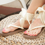 Chanel Inspired Flip Flops 630