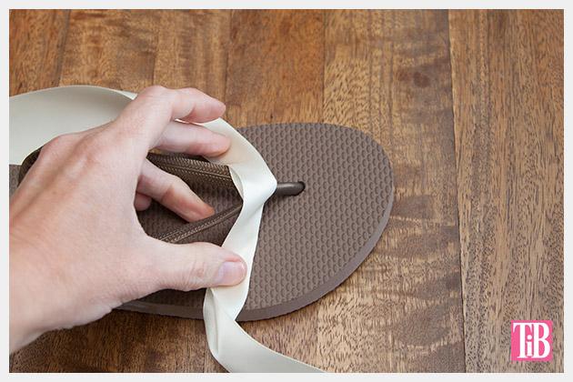 chanel-inspired-flip-flops-fold-glue