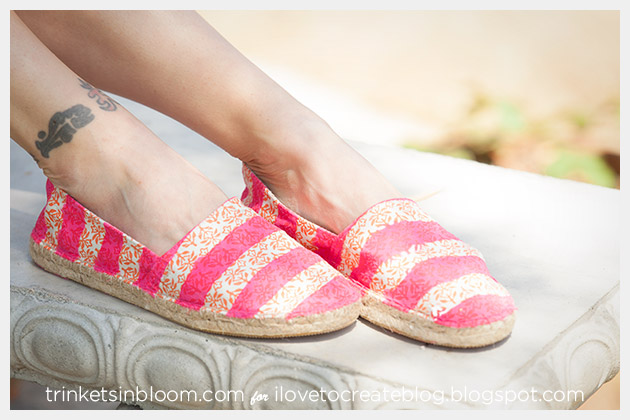 DIY Colorshot Summer Kicks by Trinkets in Bloom