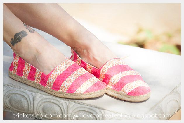 DIY Colorshot Summer Kicks by Trinkets in Bloom