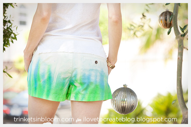 ColorShot Shorts DIY Backview