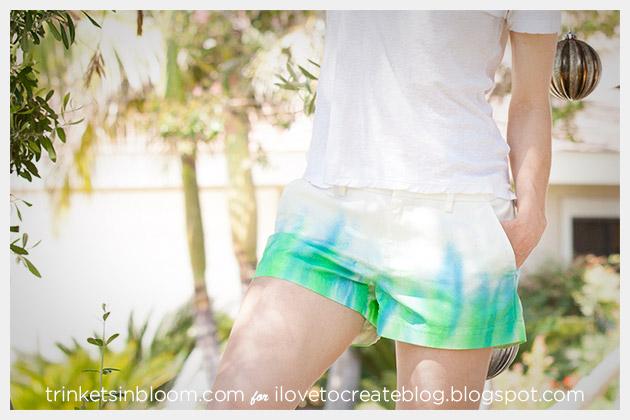 ColorShot Shorts DIY frontview
