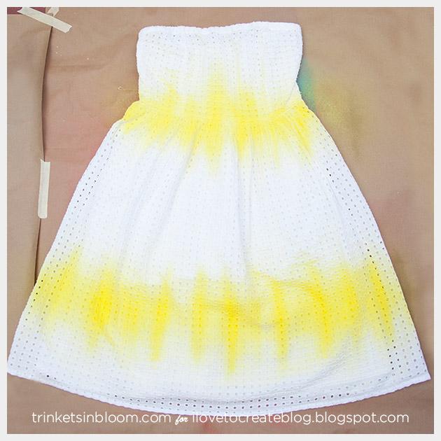 ColorShot Dress first color complete