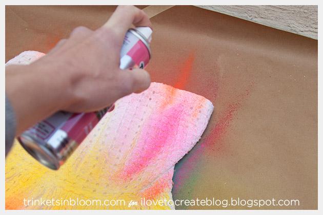 ColorShot Dress spraying third color