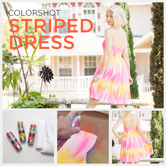 ColorShot Dress feature by Trinkets in Bloom