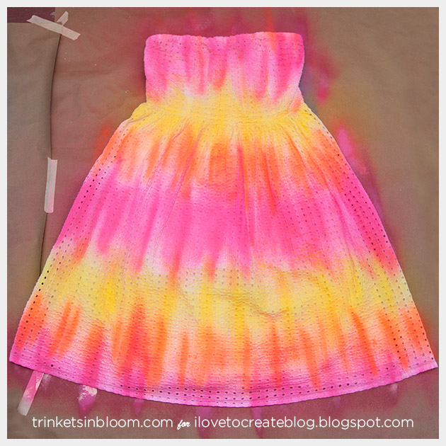 ColorShot Dress finished