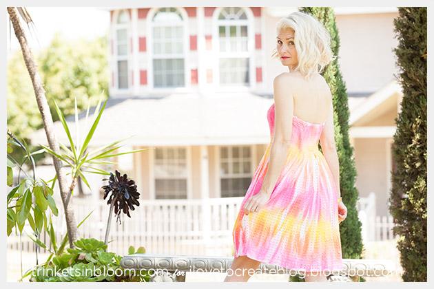 ColorShot Dress side by Trinkets in Bloom