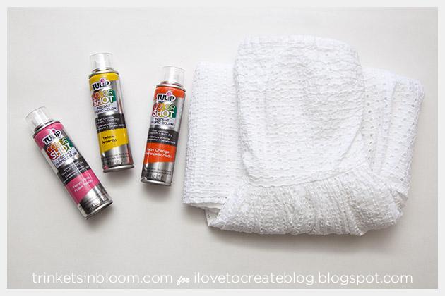 ColorShot Dress supplies