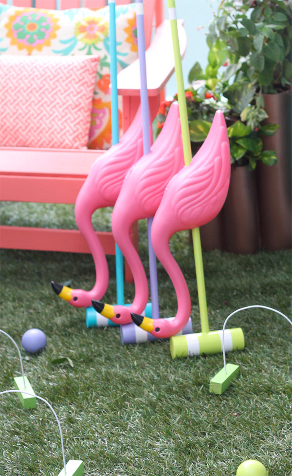 Alice in Wonderland Croquet Set by Amber Kemp-Gerstel for Home Depot