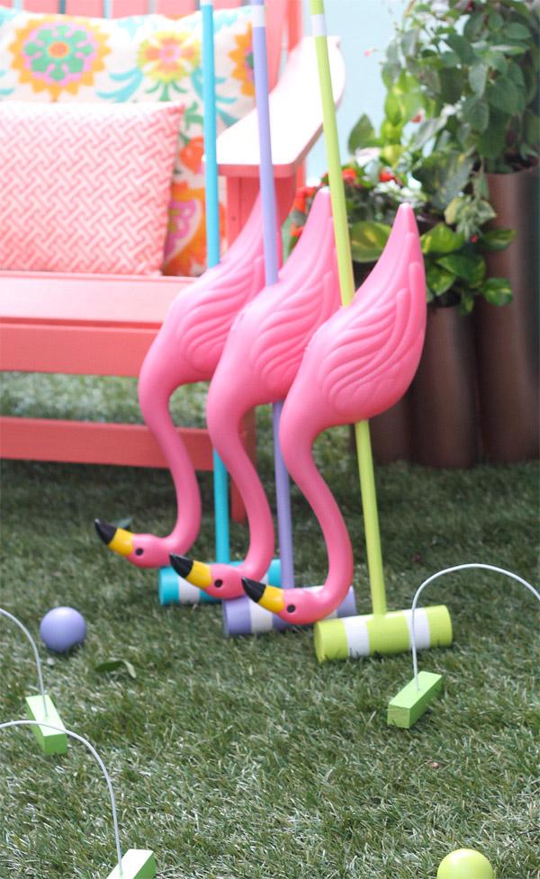 Alice in Wonderland Croquet Set by Amber Kemp-Gerstel for Home Depot