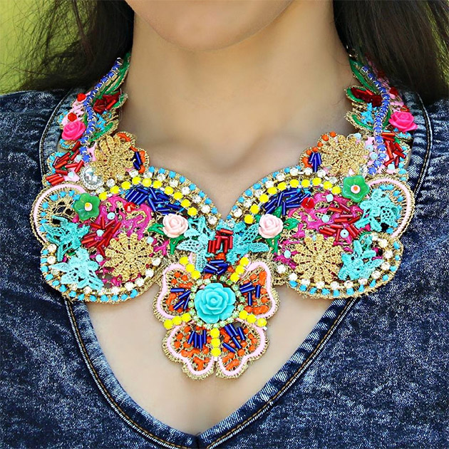 Free People Inspired Boho Necklace by Mark Montano