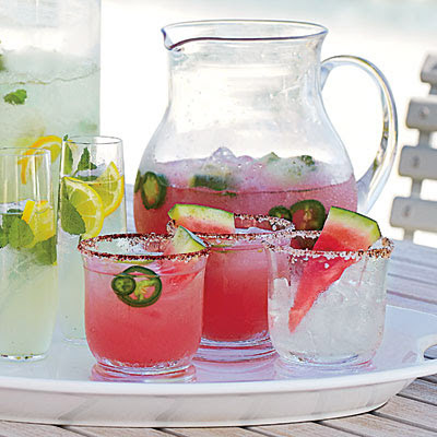 Watermelon-Jalapeno Margarita by Sweet Southern Prep