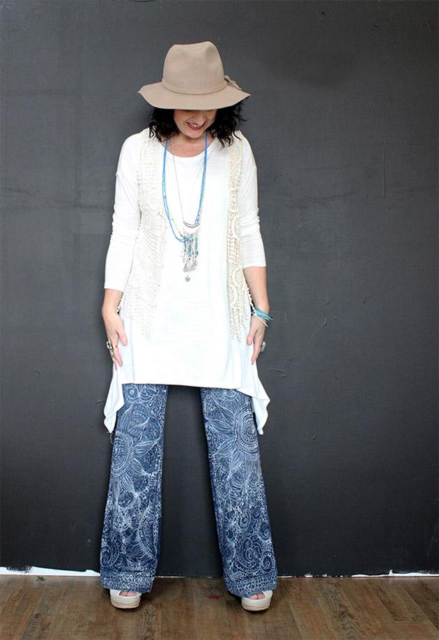 Boho Jeans by Alisa Burke