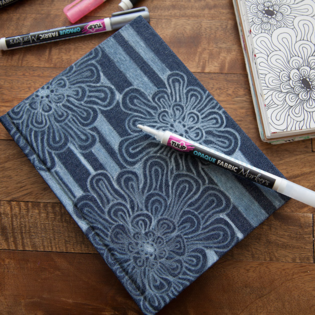 Doodled Journal Cover 630 by Trinkets in Bloom