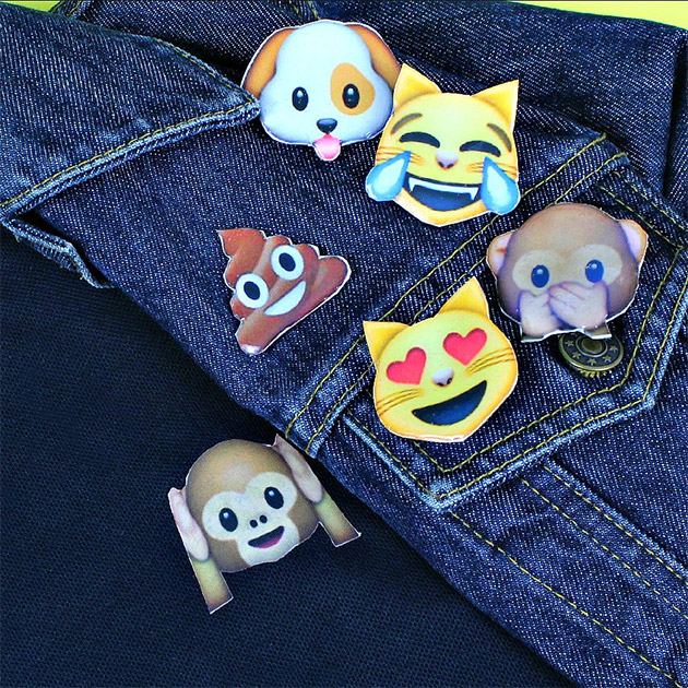 Emoji Polo and Pins by Mark Montano