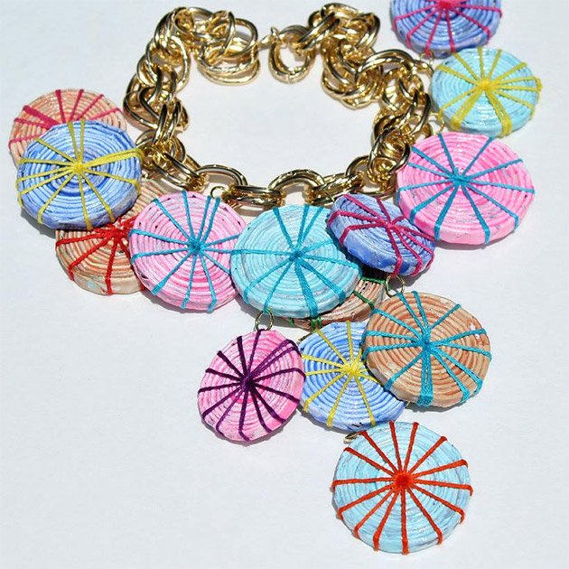 Recycled Paper Jewelry by Mark Montano