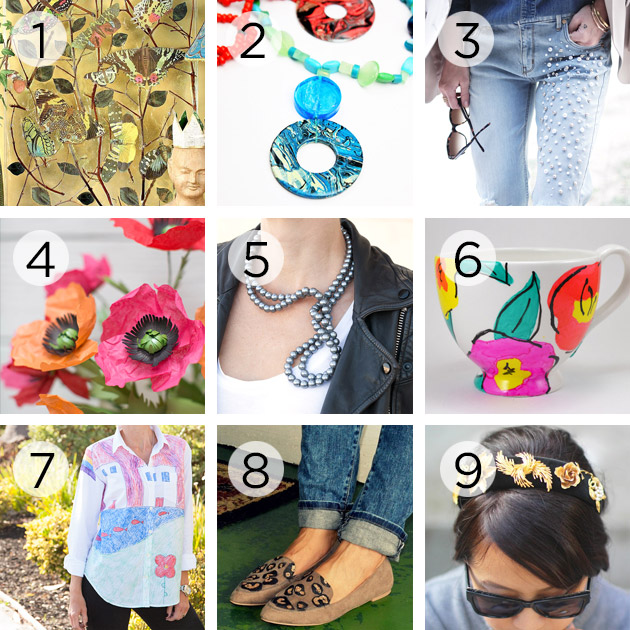 ThursDIY Fashion DIY Roundup