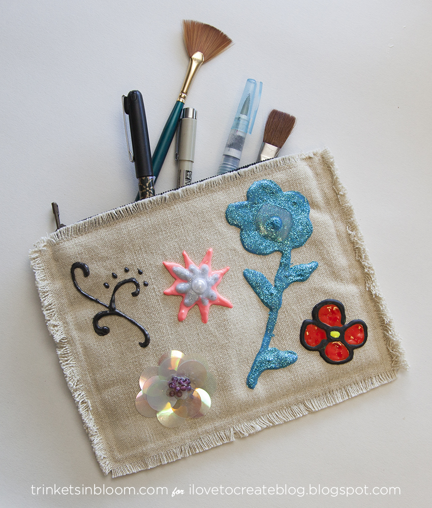 DIY Embellished Clutch feature by Trinkets in Bloom