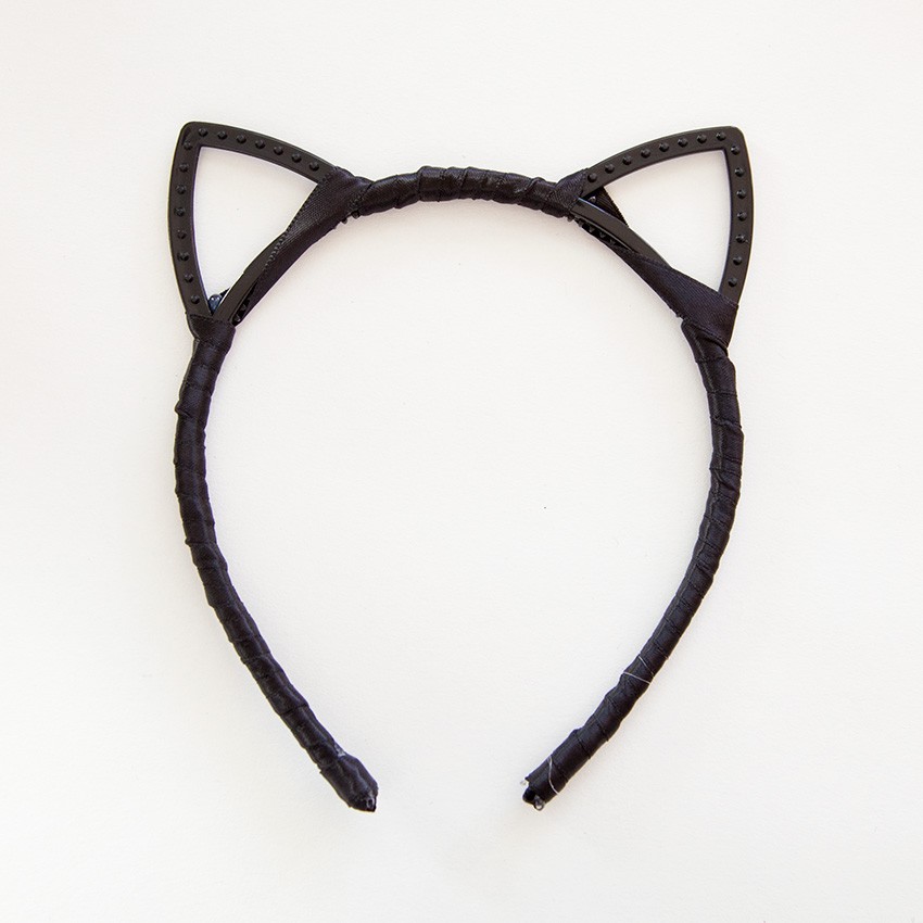 Designer Cat Ears Headband DIY wrapped