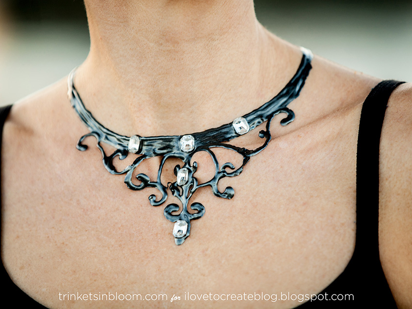 Witch Necklace DIY by Trinkets in Bloom