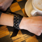 Scrap Ribbon Bracelet DIY by Trinkets in Bloom