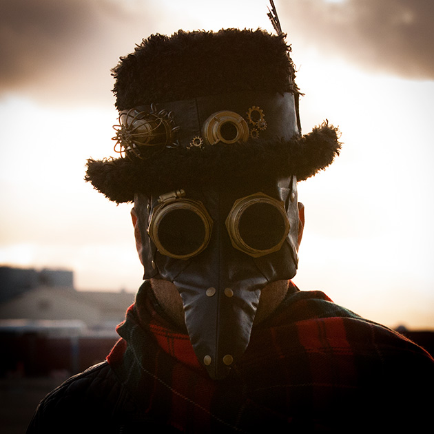 Steampunk Mask and Hat thumbnail by Trinkets in Bloom