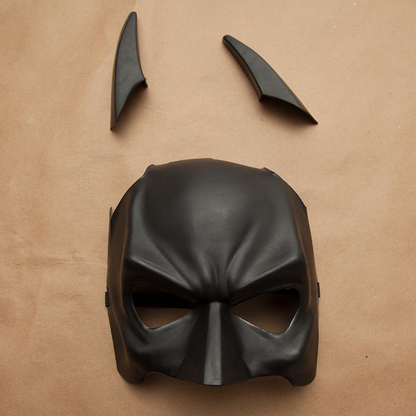 Steampunk Mask cutting ears off mask