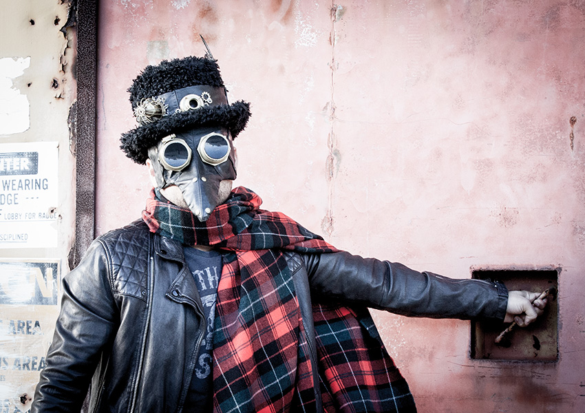 Steampunk Mask and Hat DIY by Trinkets in Bloom