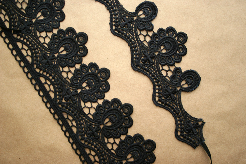 Gothic Choker DIY Cut Lace by Trinkets in Bloom