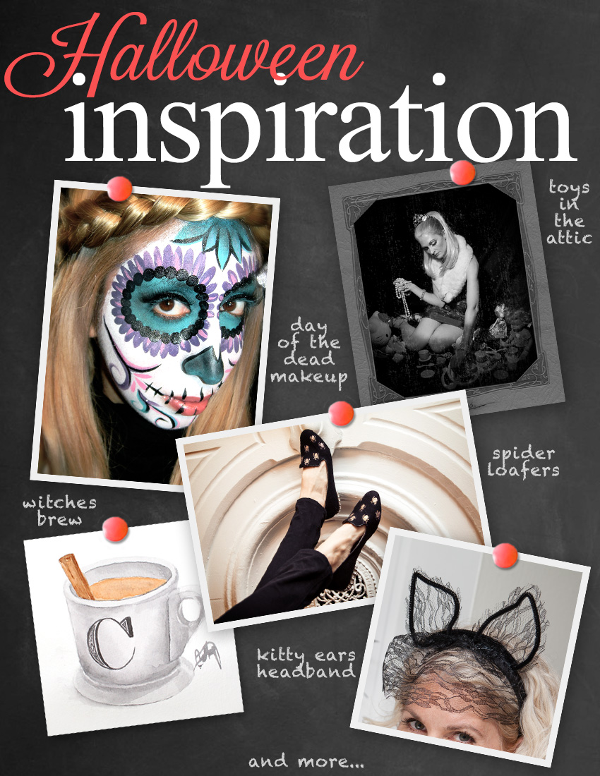 Halloween Inspiration 2015 by Trinkets in Bloom