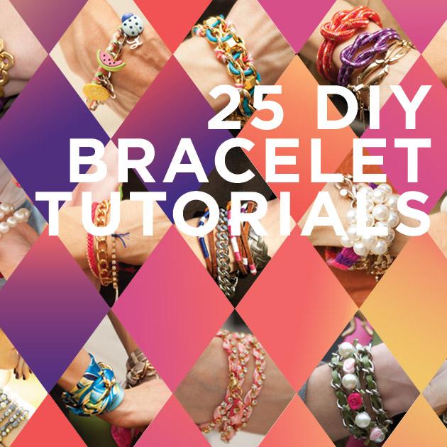 Rock Your Wrists 25 DIY Bracelet Tutorials thumbnail
