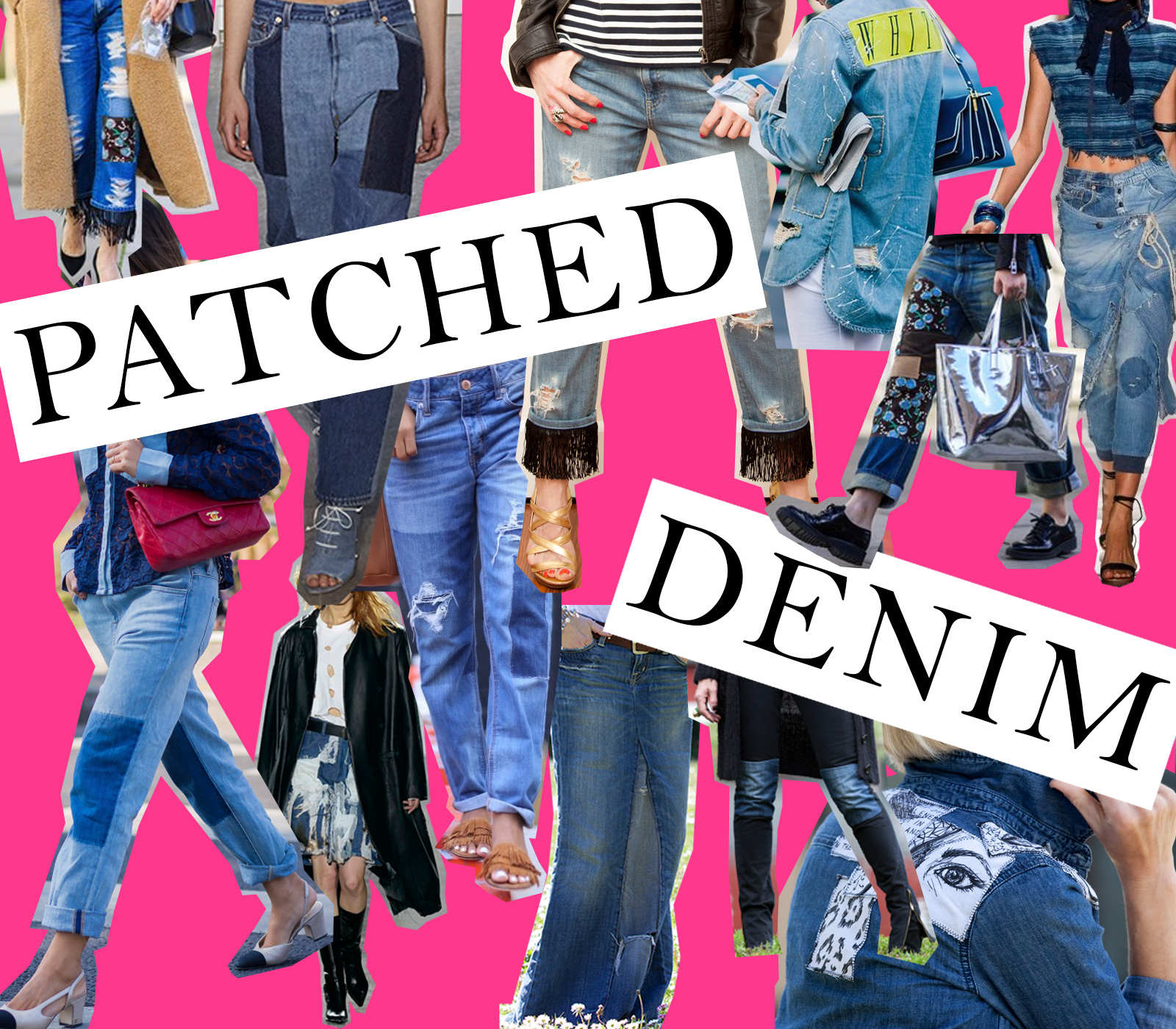 Patched Denim Trend Inspiration by Trinkets in Bloom