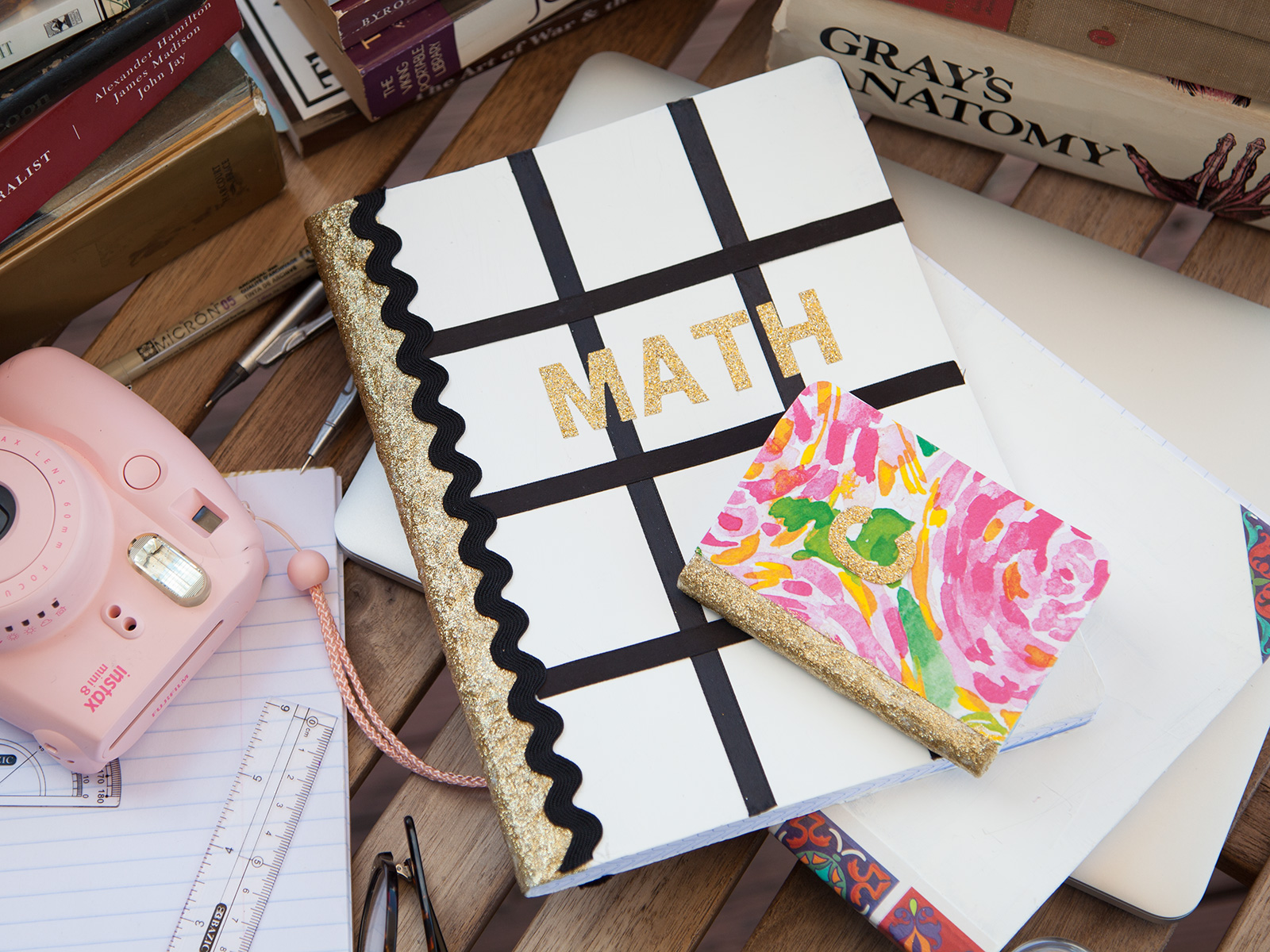 DIY Notebooks for Back To School by Trinkets in Bloom