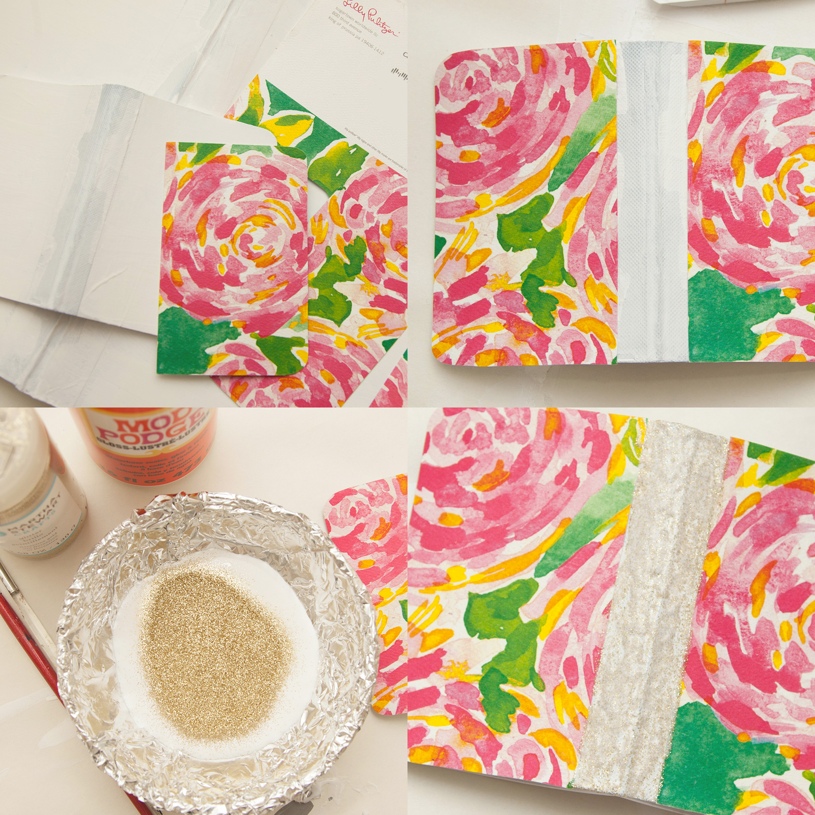 Back to School DIY Notebooks by Trinkets in Bloom