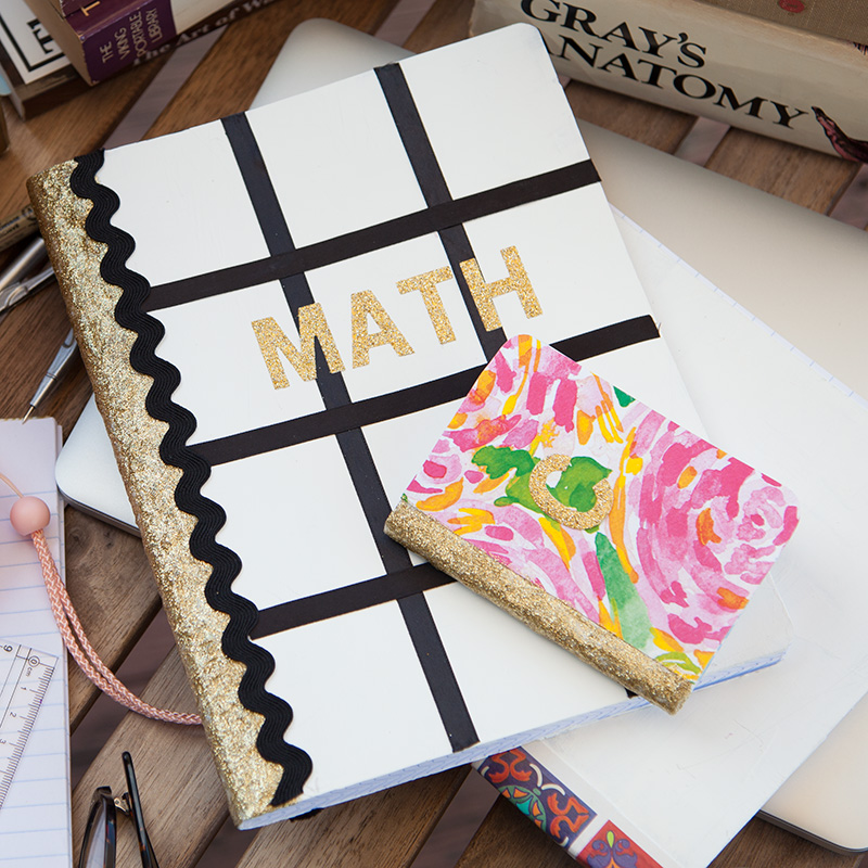 DIY Notebooks for Back to School thumbnail by Trinkets in Bloom