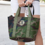 DIY Monogramed Camo Tote Thumbnail by Trinkets in Bloom