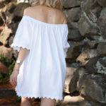 DIY Off the Shoulder Dress thumbnail