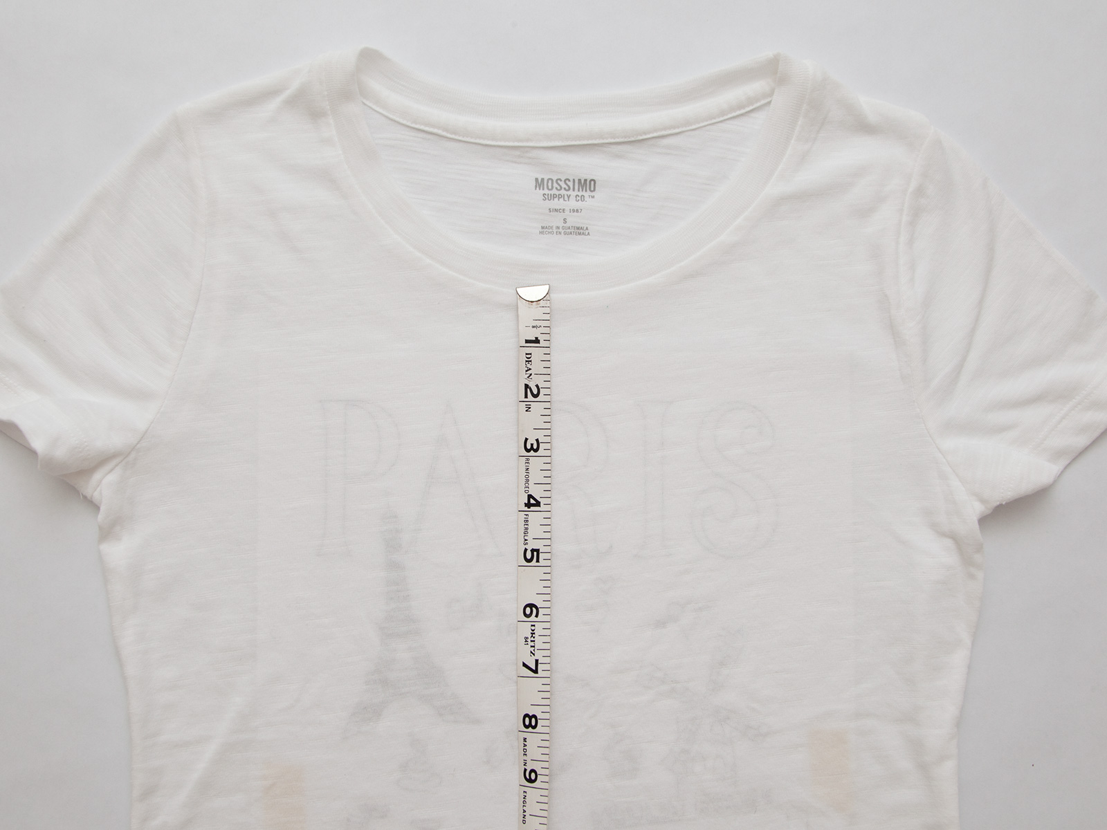 DIY Paris Doodle T-Shirt Measuring by Trinkets in Bloom