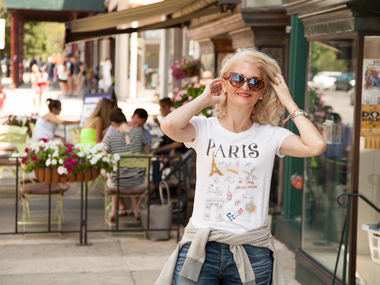 DIY Paris Doodle T-Shirt Photo 3 by Trinkets in Bloom