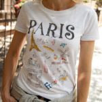 DIY Paris Doodle T-Shirt Thumbnail by Trinkets in Bloom