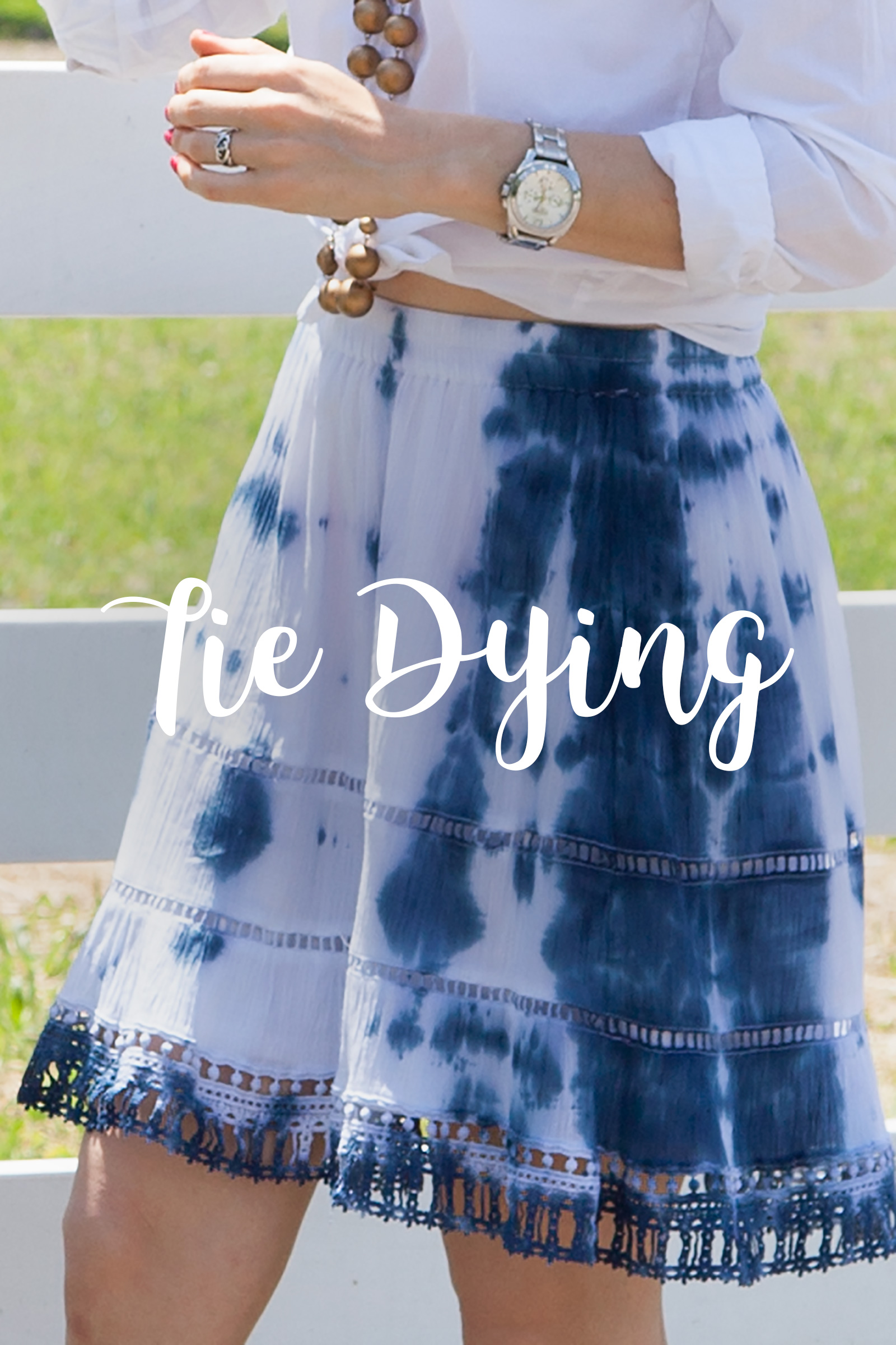 How to Alter Fabric with Tie Dying 3 by Trinkets in Bloom