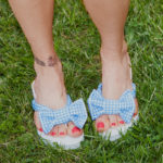 DIY Gingham Flip Flops thumbnail