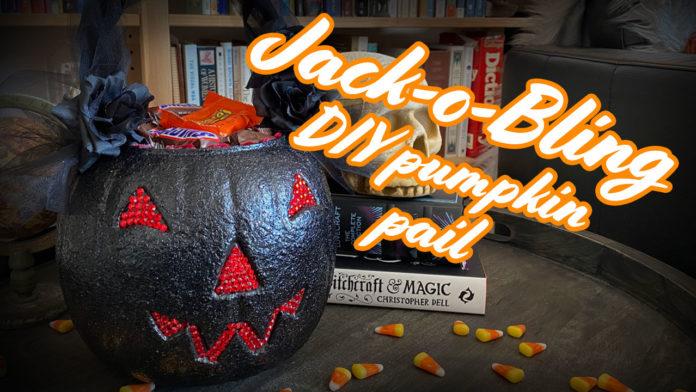 How to make a DIY Pumpkin Pail