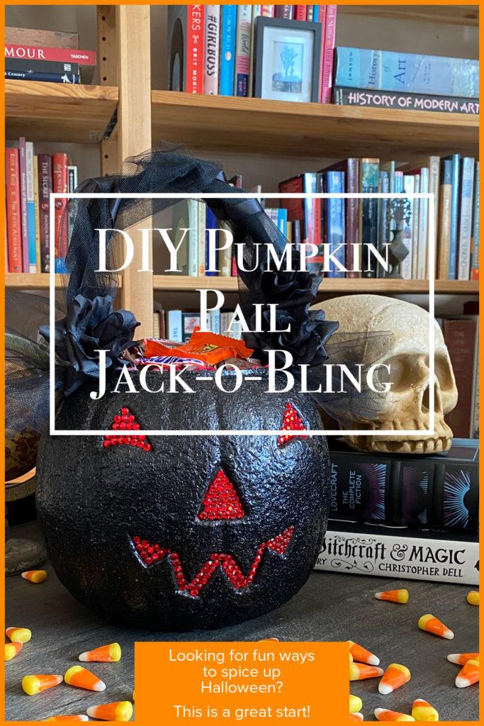 DIY Pumpkin Pail tutorial